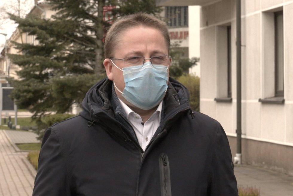 Palangos sanatorijoje nustačius koronavirusą aiškėja detalės: pacientas ten atvyko iš Klaipėdos (nuotr. stop kadras)