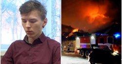 11 namų sudeginęs radviliškietis teisme teištarė vieną žodį