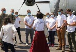 Į Lietuvą grįžo medikų pagalbos misija, padėjusi kovoti su COVID-19 Armėnijoje