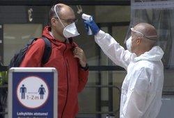 5 nauji koronaviruso atvejai – įvežtiniai: du iš Švedijos, trys iš Ukrainos