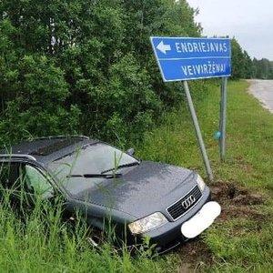 Automobilių susidūrimas Klaipėdos rajone: kaltininkė – į egzaminą važiavusi girta abiturientė