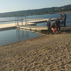 Tragedijos Lampėdžių ežere liudininkė: jis nušoko, išnėrė, sumojavo rankomis ir vėl paniro