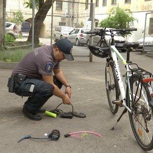 Apvogtas vilnietis turi patarimą, kaip atbaidyti vagis nuo dviračių