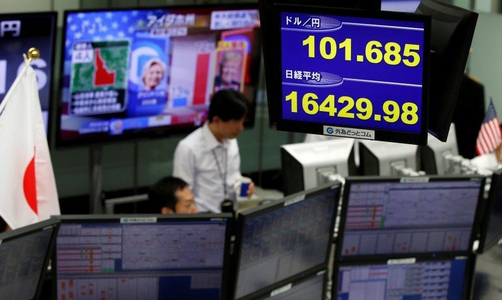 Donaldo Trumpo pergalė smogė finansų rinkoms: niekas to nesitikėjo (nuotr. SCANPIX)