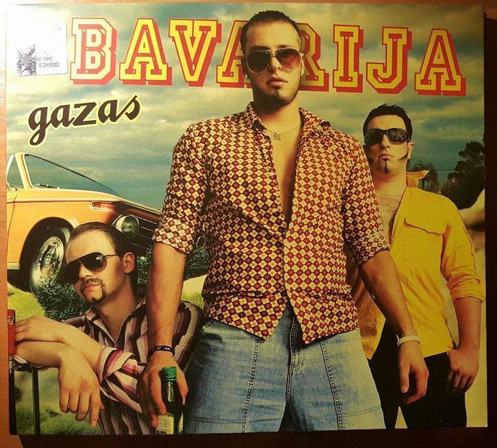 """""""Bavarija"""" albumo viršelis (nuotr. asm. archyvo)"""