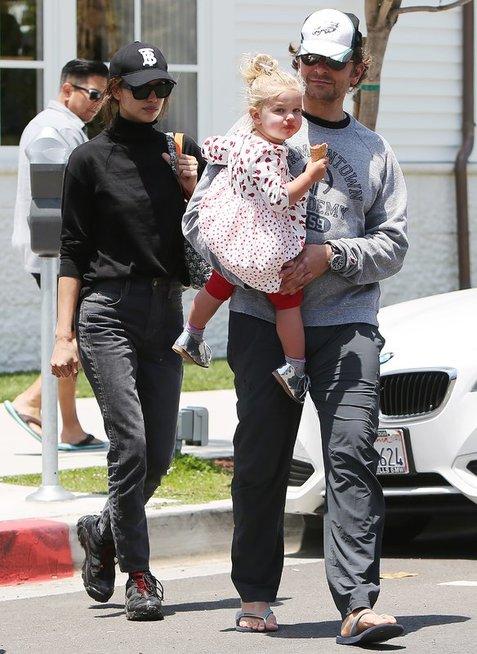 Irina Shayk ir Bradley Cooper