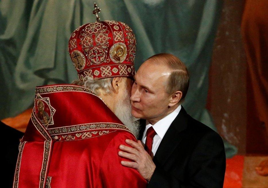 Rusijos stačiatikių vadas pasiūlė demografinę krizę spręsti uždraudžiant abortus (nuotr. SCANPIX)