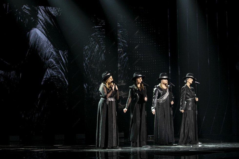 """Antrojo nacionalinės """"Eurovizijos"""" atrankos pusfinalio filmavimas"""
