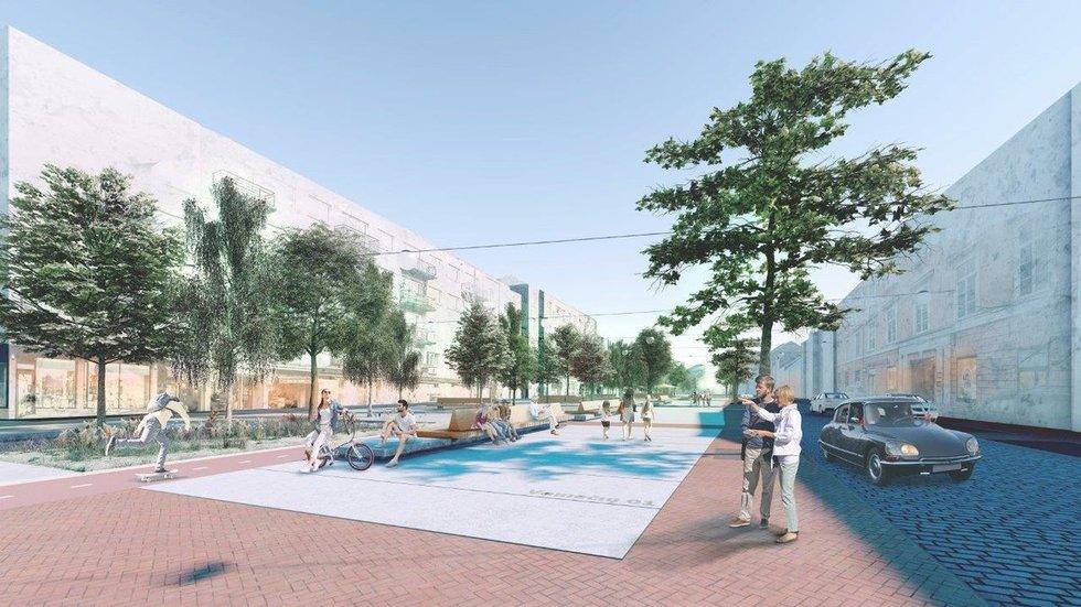 Vokiečių gatvės projektas, 3 vieta (nuotr. Organizatoriaus)