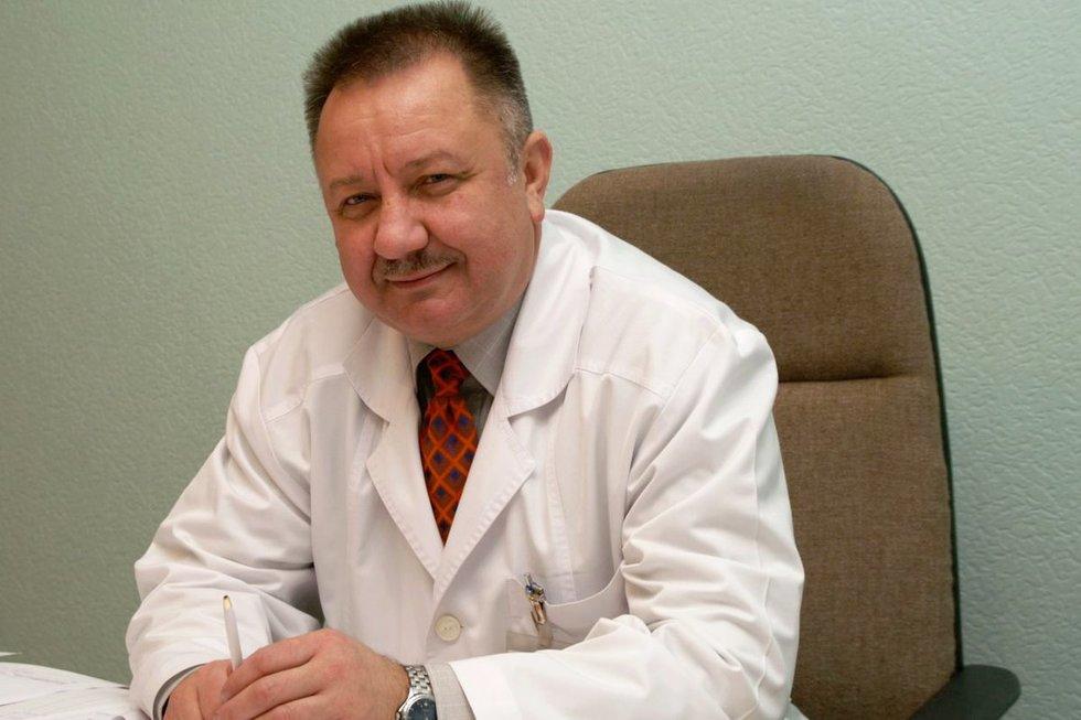 Vinsas Janušonis (Klaipėdos universitetinės ligoninės nuotr.)