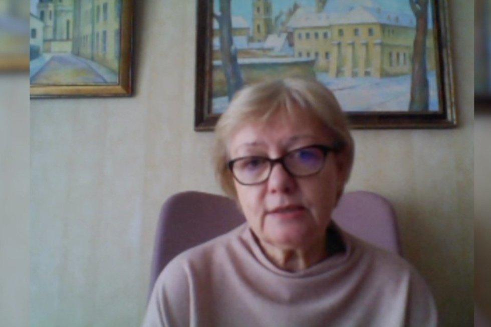 Daiva Razmuvienė (nuotr. stop kadras)