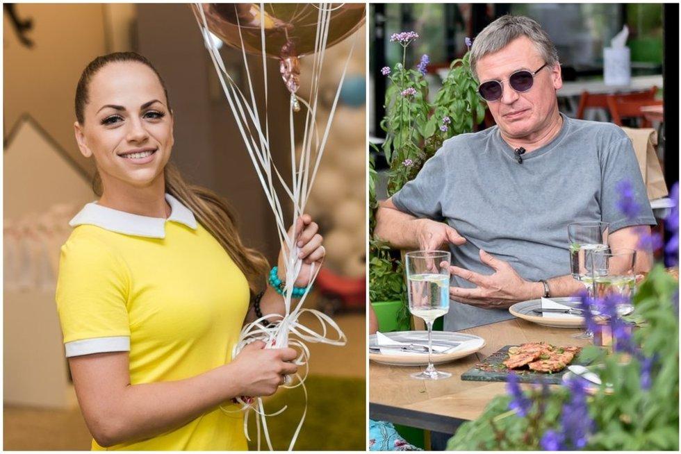Ineta Puzaraitė-Žvagulienė ir Žilvinas Žvagulis (tv3.lt fotomontažas)