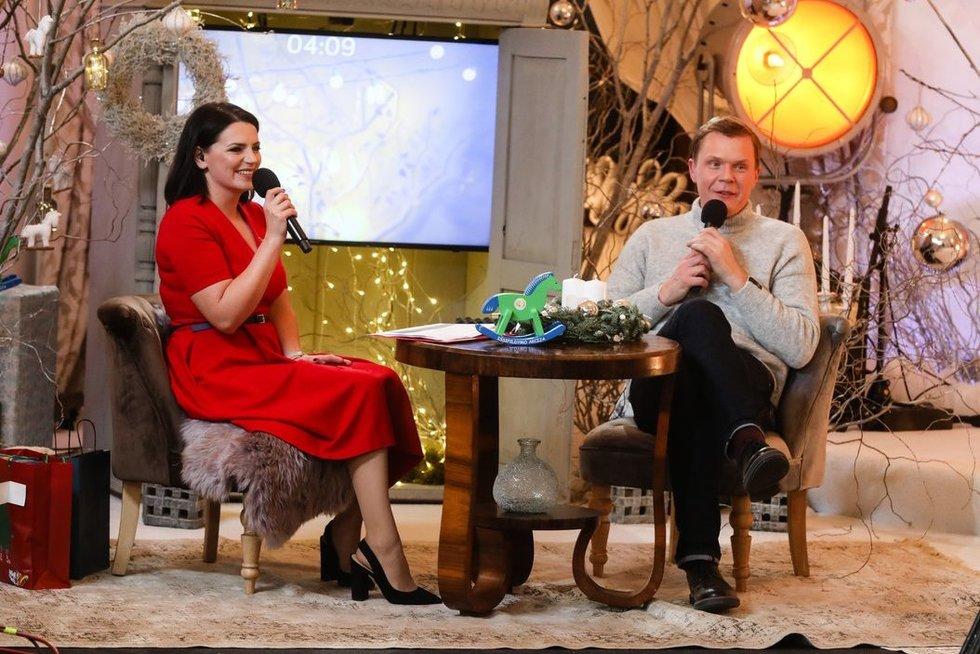 Tarp šešių renginio vedėjų bus ir Mindaugas Stasiulis su Renata Šakalyte-Jakovleva (nuotr. Organizatorių)