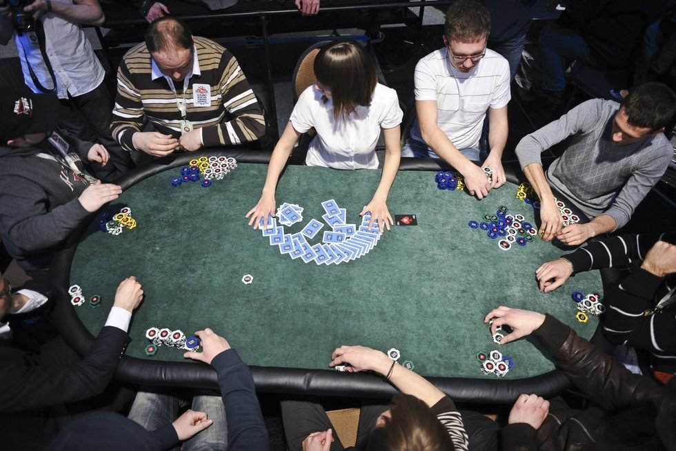 Pokerio žaidimas (nuotr. Fotodiena.lt)