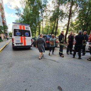 Vilniuje žuvo į lifto šachtą įkritęs vyras