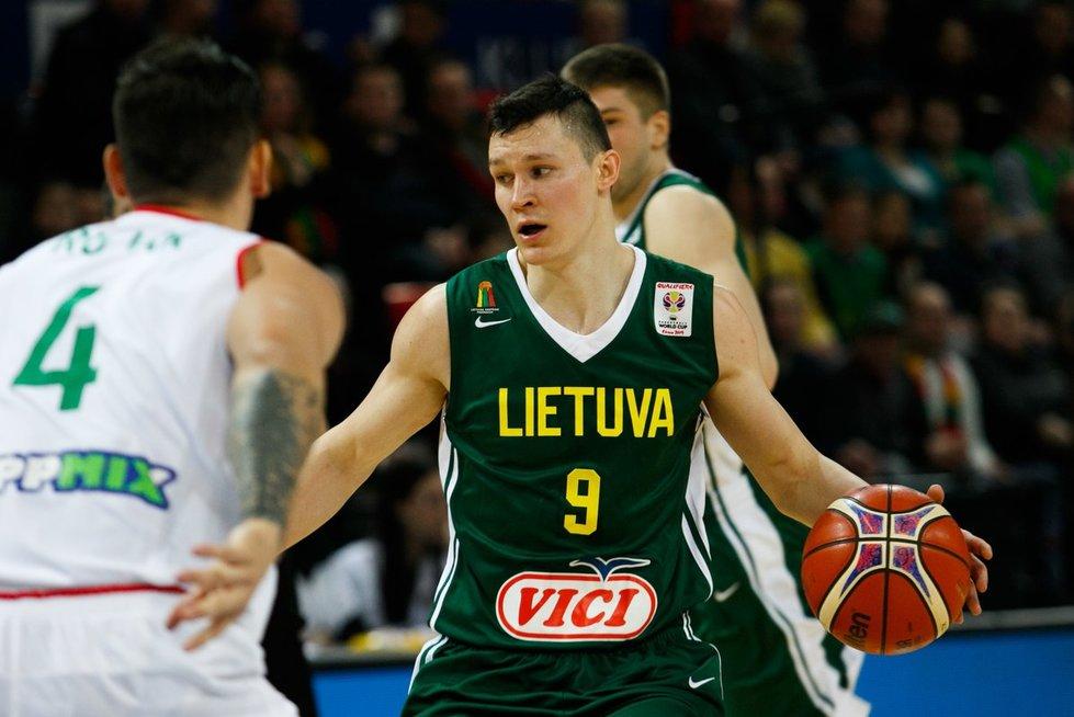 Atranka į pasaulio krepšinio čempionatą: Lietuva - Vengrija (nuotr. Tv3.lt/Ruslano Kondratjevo)