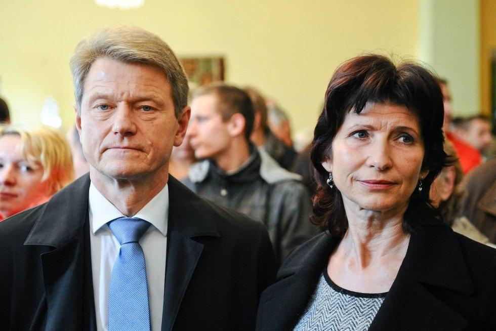 Rolandas Paksas ir Laima Paksienė (nuotr. Fotodiena.lt)