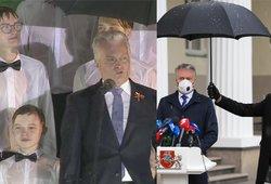 Nausėda žada choristus pasikviesti į prezidentūrą: aš pats berniukų chore dainavau, stovėjau lietuje ir man patiko