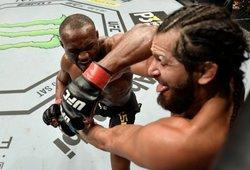 Usmanas dominavo prieš Masvidalį ir apgynė UFC čempiono diržą