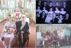 Aldona ir Augustinas kartu jau pusę amžiaus: meilė užaugino 11 vaikų ir 26 anūkus