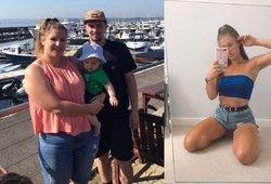 Mama atsikratė 45 kg: jokių dietų ir toliau mėgaujasi užkandžiais