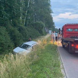 Kelionė nusipirktu automobiliu užsieniečiui baigėsi avarija