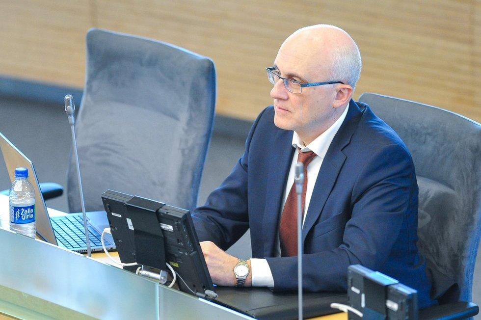 Stasys Jakeliūnas (nuotr. Fotodiena.lt/Roko Lukoševičiaus)