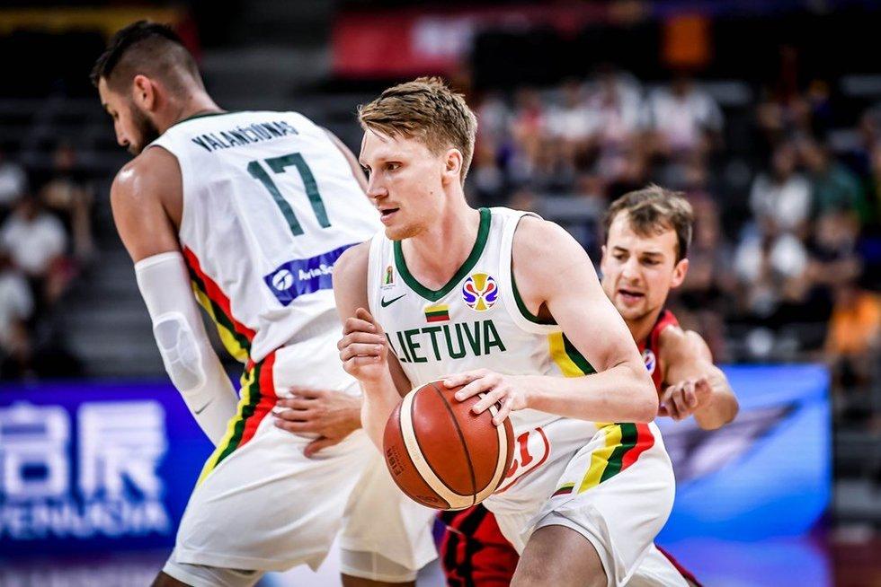 M. Grigonis (nuotr. FIBA)