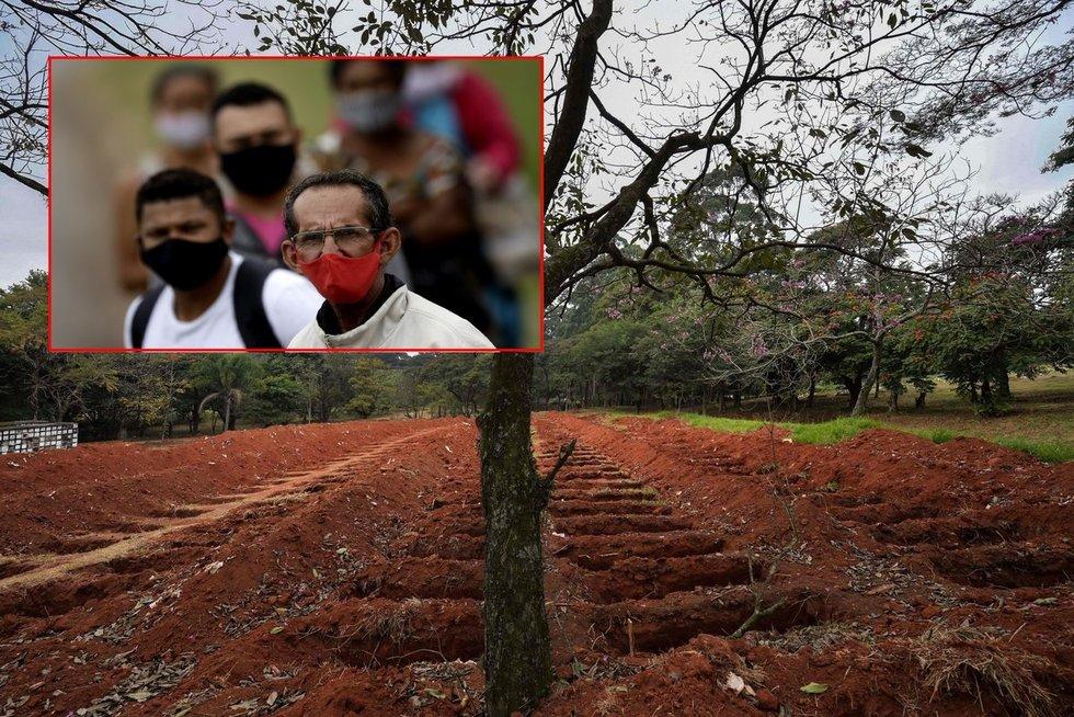 """Lotynų Amerika """"liepsnoja"""": koronavirusas smogė negailestingai, nepaisant prezidento raginimo melstis (nuotr. SCANPIX) tv3.lt fotomontažas"""