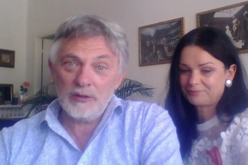 Jurgita ir Paulius Jurkevičiai  (nuotr. stop kadras)