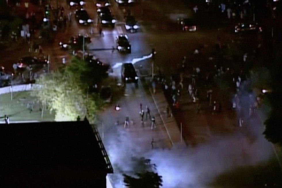 Protestas (nuotr. stop kadras)