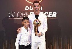Ronaldo 10-metis sūnus atsidūrė pareigūnų akiratyje: gresia nemenka bauda