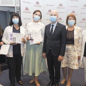 Tarp Verygos apdovanotųjų – ir Nacionalinio vėžio instituto medikės