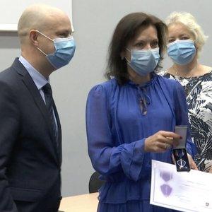 Verygos medalius gavę medikai apie karantino pradžią: slėgė baimė ir stresas
