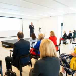 Sveikatos stiprinimo fondas pristatė veiklos rezultatus, pagerbė prie COVID-19suvaldymo prisidėjusius žmones