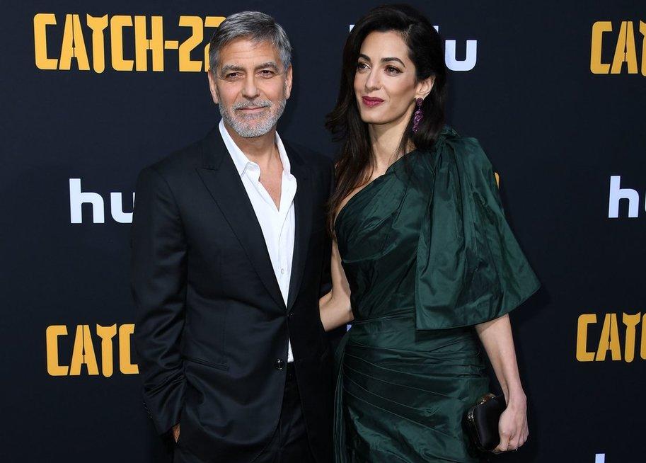George Clooney su žmona Amal