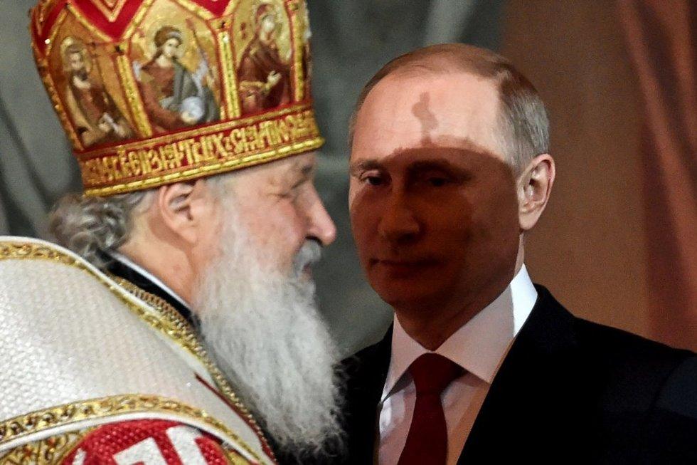 Rusijos ortodoksų vadas reikalaus uždrausti abortus (nuotr. SCANPIX)