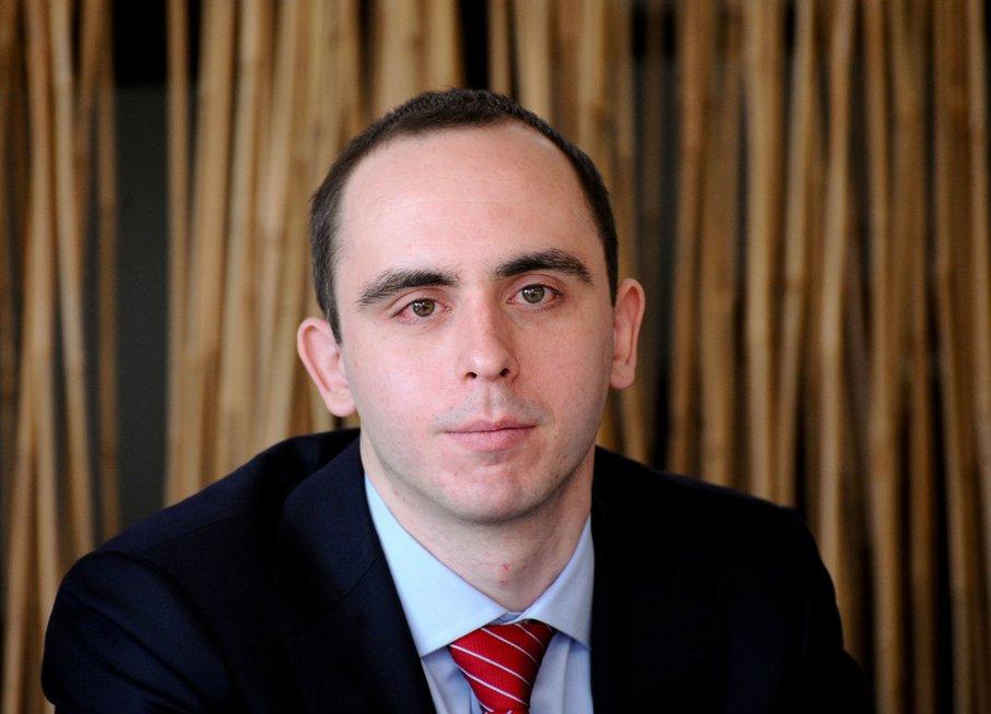 Lietuvos pramonininkų konfederacijos (LPK) analitikas Aleksandr Izgorodin (nuotr. Fotodiena.lt/Dmitrijaus Radlinsko)