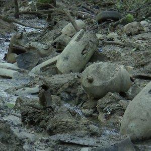Neeilinė išminavimo operacija Kaune: upelyje – pavojingos bombos