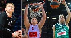 Laukia nenuspėjama vasara: kur karjeras tęs Lietuvos krepšinio žvaigždės?