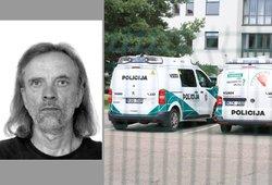 Policija ieško dingusio vyro