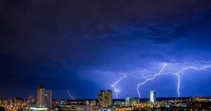 Žaibas (nuotr. skaitytojo)