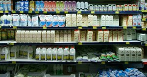 Pienas (nuotr. Tv3.lt/Ruslano Kondratjevo)
