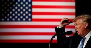JAV prezidentas D. Trumpas (nuotr. SCANPIX)