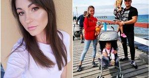 Kristina Šerkšnienė su šeima (nuotr. Instagram)