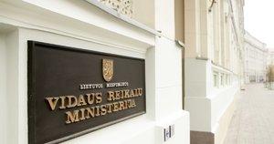 Lietuvos Respublikos vidaus reikalų ministerija (nuotr. Tv3.lt/Ruslano Kondratjevo)