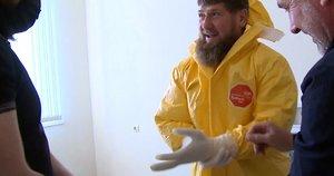 Žiniasklaida: Ramzanui Kadyrovui įtariamas koronavirusas, jam pažeisti plaučiai (nuotr. SCANPIX)