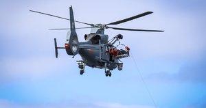 Dingusio ieško sraigtasparnis