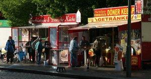 Kebabų kioskas Berlyne (nuotr. SCANPIX)