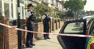 Nusikaltimo vietoje budi sustiprintos policijos pajėgos. (nuotr. TV3)